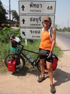 20.01.2013: heute fuehrt uns der Weg nach Pattaya