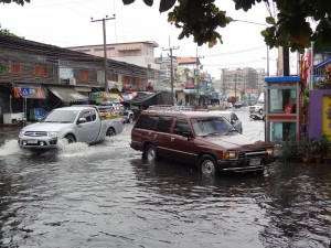 29.01.2013: Hua Hin im Monsumregen