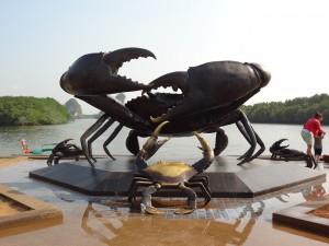 Der Name Krabi kommt von... na? Was denkt Ihr?