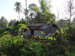 In dieser Hütte verbrachten wir unsere Nacht (siehe Beschreibung oben)