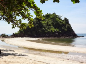 Strand bei Ban Saphan entdeckt auf einer Tagestour
